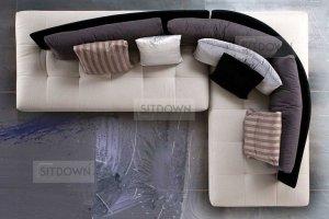 Оригинальный угловой диван Конверс - Мебельная фабрика «Sitdown», г. Москва