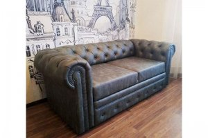 Ортопедический диван-кровать Честерфильд - Мебельная фабрика «Амплуа»