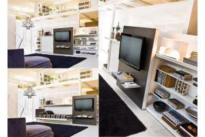 Откидная кровать Аделия с TV - Мебельная фабрика «МебельГрад (мебель трансформер)»