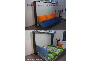 Откидная шкаф кровать Амалия NEW с диваном - Мебельная фабрика «МебельГрад (мебель трансформер)»