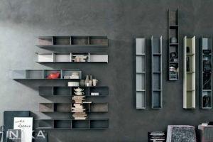 Открытый стеллаж лофт Люксембург STL11 - Мебельная фабрика «NIKA premium»