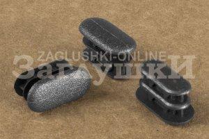 Заглушка овальная внутренняя 10х20 мм Артикул 110512402 - Оптовый поставщик комплектующих «Заглушки»