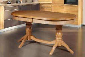 Овальный раздвижной стол Зевс ОРО 02 - Мебельная фабрика «Мебель-класс»