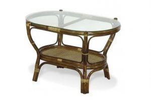 Овальный стол 01/13 из ротанга - Импортёр мебели «Радуга»