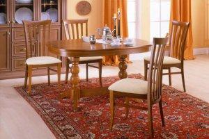 Овальный стол со стульями - Мебельная фабрика «Агата»