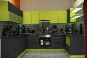 П-образная кухня Модерн - Мебельная фабрика «Симбирский шкаф»