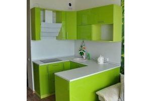 П-образная кухня - Мебельная фабрика «AlDa mebel»