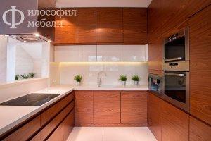 П-образная КУХНЯ №6 - Мебельная фабрика «Философия мебели»