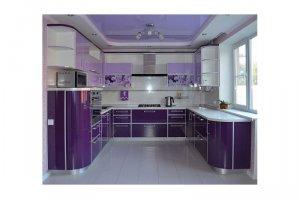 П-образная кухня АЛВЕНА - Изготовление мебели на заказ «КухниДар»