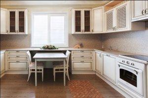 П-образная кухня дуб - Мебельная фабрика «Корпус»