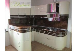 П-образная кухня Кристиан - Мебельная фабрика «Дэрия»