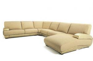 П-образная мягкая зона Лорд в просторную гостиную - Мебельная фабрика «МебельЛайн»