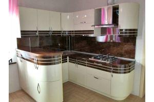П-образная угловая кухня - Мебельная фабрика «Дэрия»