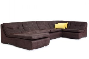 П-образный диван без подлокотников Бостон - Мебельная фабрика «Джениуспарк»