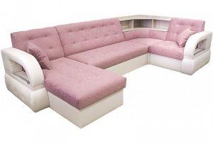 П-образный диван Престиж с барным углом - Мебельная фабрика «Версаль»