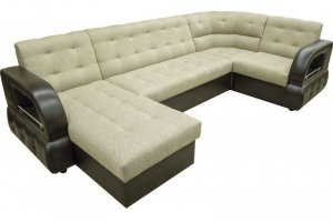 П-образный диван Престиж с мягким углом - Мебельная фабрика «Версаль»