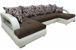 П-образный угловой диван Венеция - Мебельная фабрика «Версаль»
