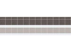 Панель ПВХ кухонная Графит - Оптовый поставщик комплектующих «Пластмаркет»
