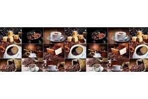 Панель ПВХ кухонная Кофе - Оптовый поставщик комплектующих «Пластмаркет»