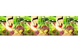 Панель ПВХ кухонная Массандра - Оптовый поставщик комплектующих «Пластмаркет»