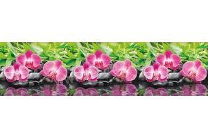 Панель ПВХ кухонная Орхидея - Оптовый поставщик комплектующих «Пластмаркет»