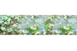 Панель ПВХ кухонная Яблоня - Оптовый поставщик комплектующих «Пластмаркет»