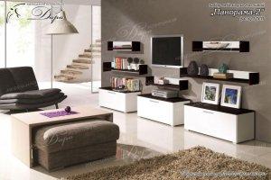 Набор мебели для гостиной Панорама-2 - Мебельная фабрика «Дара»