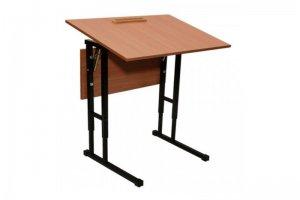 Парта школьная 1-местная регулируемая - Мебельная фабрика «Новый Галион»