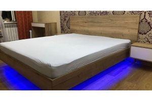Парящая кровать с подсветкой - Мебельная фабрика «Виста»