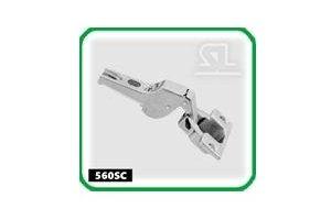 Петля мебельная полунакладная 560SC - Оптовый поставщик комплектующих «СЛ Дон»