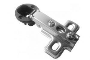 Петля накладная для стекла с заглуш. хром (2*, 200*) - Оптовый поставщик комплектующих «Виком»