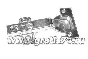 Петля накладная с доводчиком 15937 - Оптовый поставщик комплектующих «ГРАТИС»