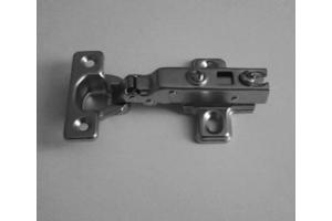 Петля полунакладная с доводчиком - Оптовый поставщик комплектующих «Мебельщик»