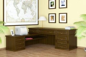 Письменный стол AL 098 - Мебельная фабрика «Бора»