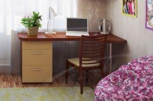 Письменный стол МДФ Комби - Мебельная фабрика «Ладос-мебель»