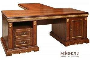 Письменный стол Милана с приставкой - Мебельная фабрика «МЭБЕЛИ»
