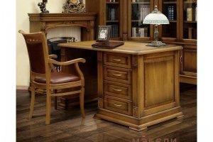 Письменный стол Верди Люкс 1 - Мебельная фабрика «МЭБЕЛИ»