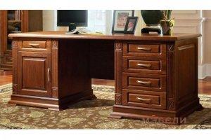Письменный стол Верди Люкс 2 - Мебельная фабрика «МЭБЕЛИ»