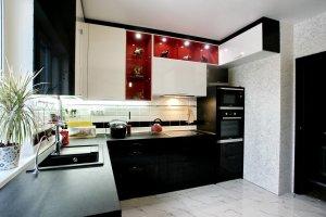 Кухня угловая Пластик - Мебельная фабрика «Элна»
