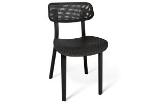 Пластиковый стул SHT S85 черный - Мебельная фабрика «Sheffilton»