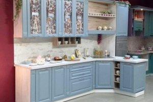 Кухня Пленка ПВХ тополь скай - Мебельная фабрика «Мебелькомплект»