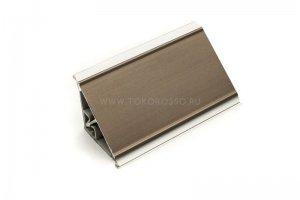 Плинтус алюминиевый Плато 10246 - Оптовый поставщик комплектующих «Россо»