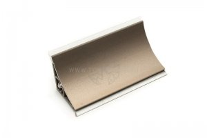 Плинтус алюминиевый Плато-2 10248 - Оптовый поставщик комплектующих «Россо»