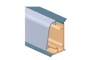 Плинтус для столешницы, с алюминиевой вставкой  Артикул: M300050S01000 - Оптовый поставщик комплектующих «Аметист»
