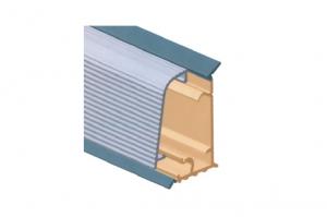 Плинтус  для столешницы, с алюминиевой вставкой Артикул: M303050S0100 - Оптовый поставщик комплектующих «Аметист»