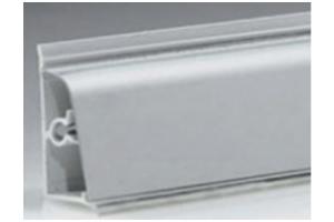 Плинтус закругленный алюминий Арт.62.04.3 - Оптовый поставщик комплектующих «Европа»