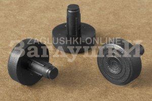 Подпятник под отверстие 5 мм Артикул ПД5ЧН - Оптовый поставщик комплектующих «Заглушки»