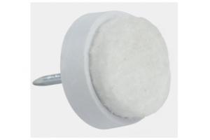Подпятники фетровые белые - Оптовый поставщик комплектующих «MEDAS»