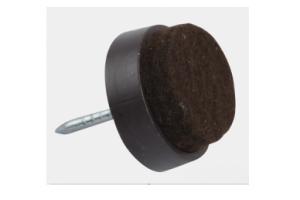 Подпятники фетровые коричневые - Оптовый поставщик комплектующих «MEDAS»