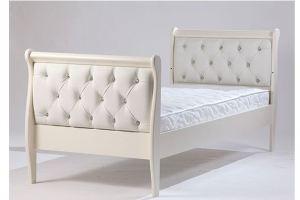 Подростковая кровать Юнона с эко-кожей - Мебельная фабрика «Лель»